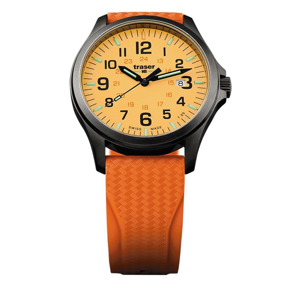P67 Officer Pro GunMetal Orange