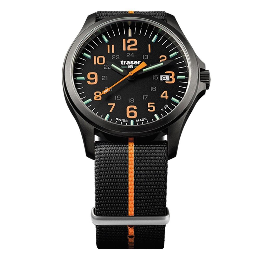 P67 Officer Pro GunMetal Black/Orange