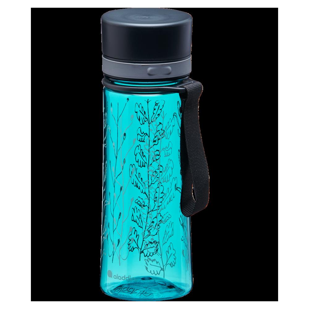 Botella de Agua Aveo 0.35L Estampado Azul Agua