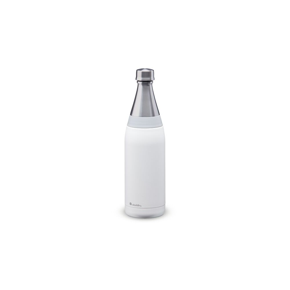 Botella de agua Fresco Thermavac de acero inoxidable 0.6L Blanca
