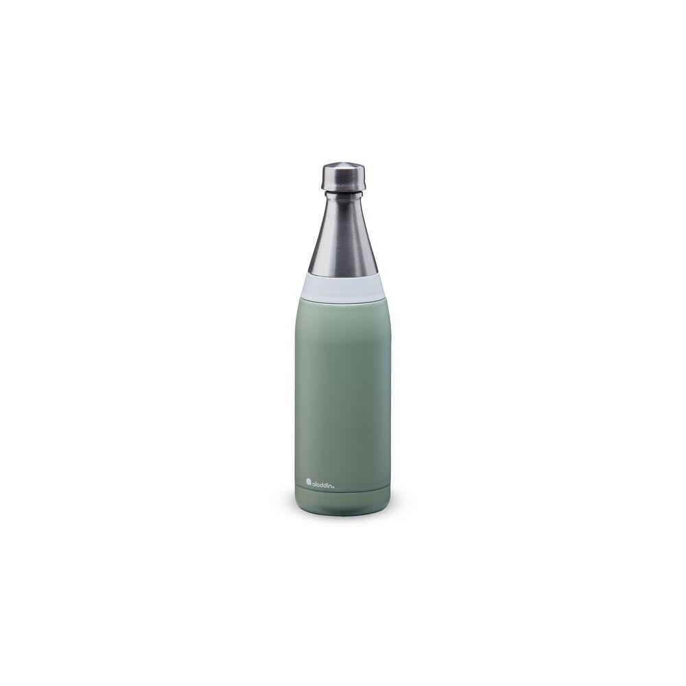 Botella de agua Fresco Thermavac de acero inoxidable 0.6L Verde Claro