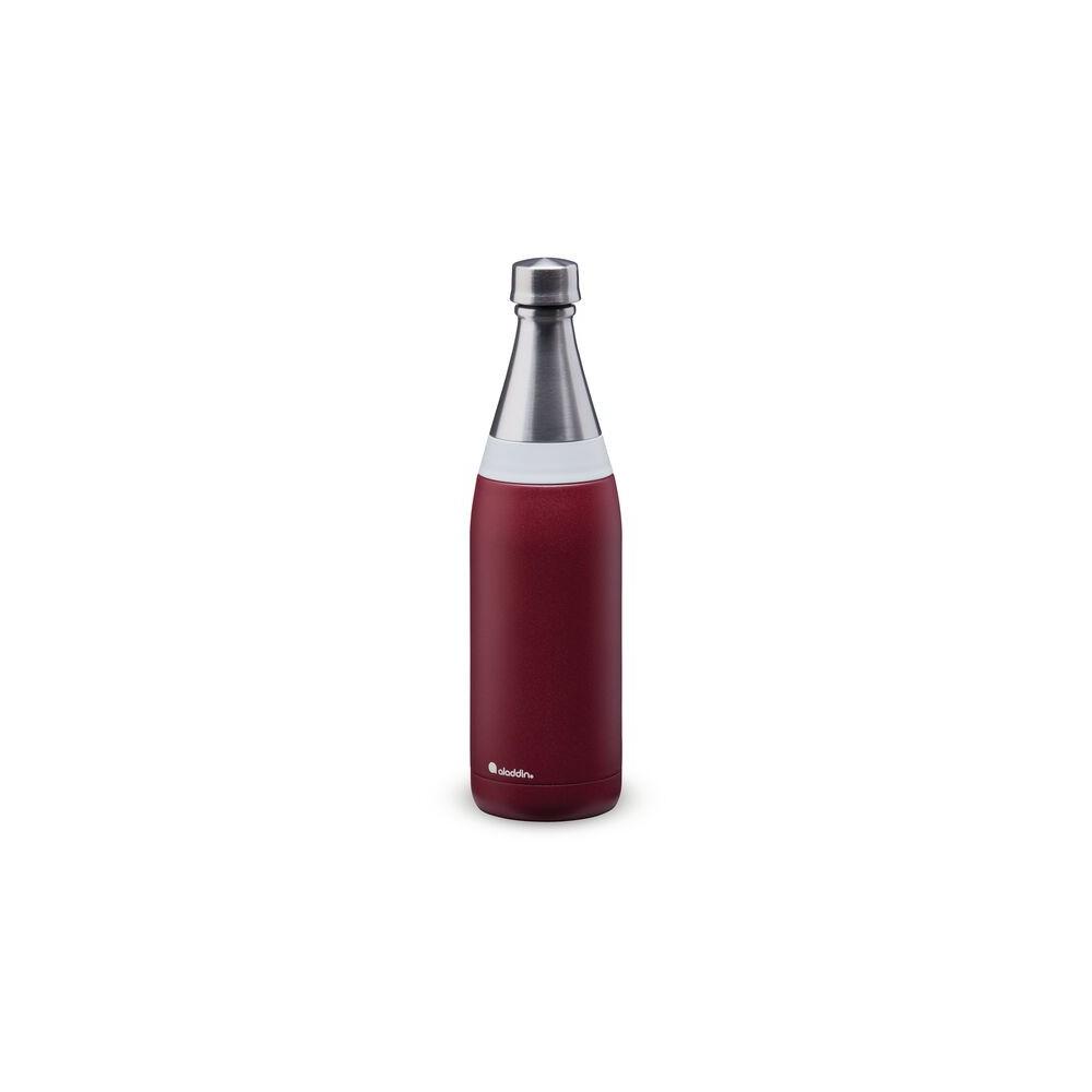 Botella de agua Fresco Thermavac de acero inoxidable 0.6L Granate
