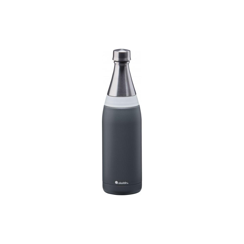 Botella de agua Fresco Thermavac de acero inoxidable 0.6L Gris Claro