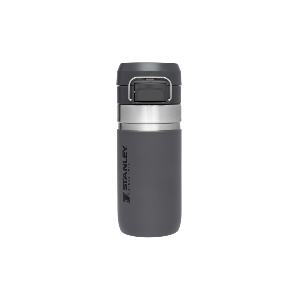 Botella Termo agua Quick Flip Go 0,47L Gris