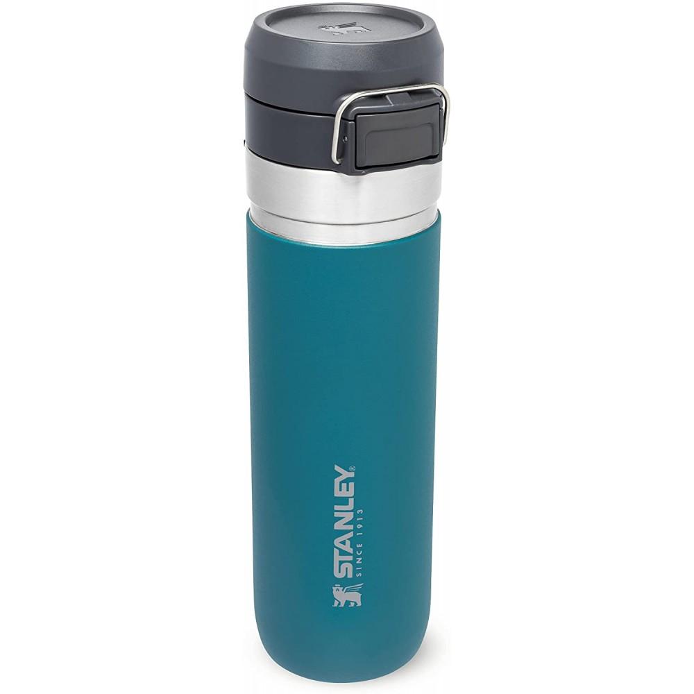 Botella Termo agua Quick Flip Go 0,7L Azul Laguna