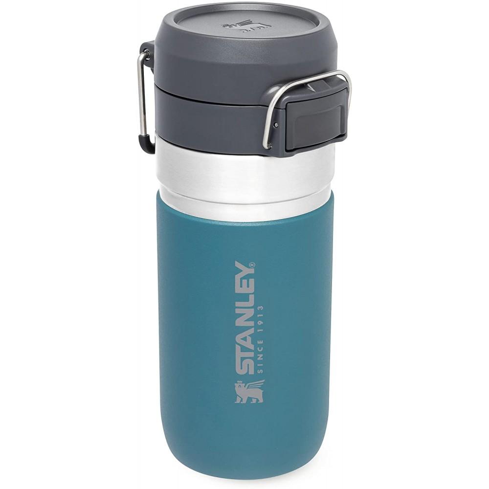 Botella Termo agua Quick Flip Go 0,47L Azul Laguna